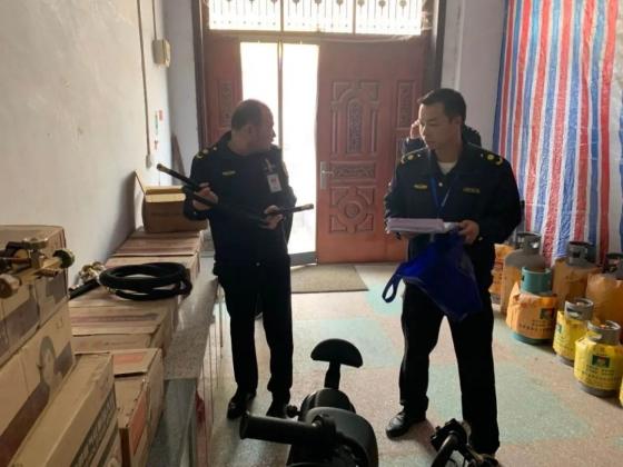 """镇平县开展燃气市场专项检查!查除一家没有合法经营手续""""黑气站""""…"""